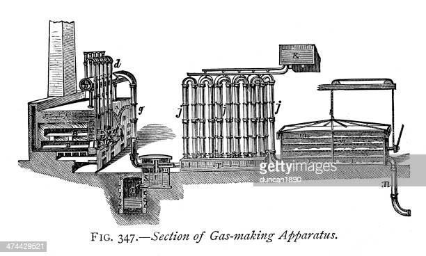 Gas making apparatus