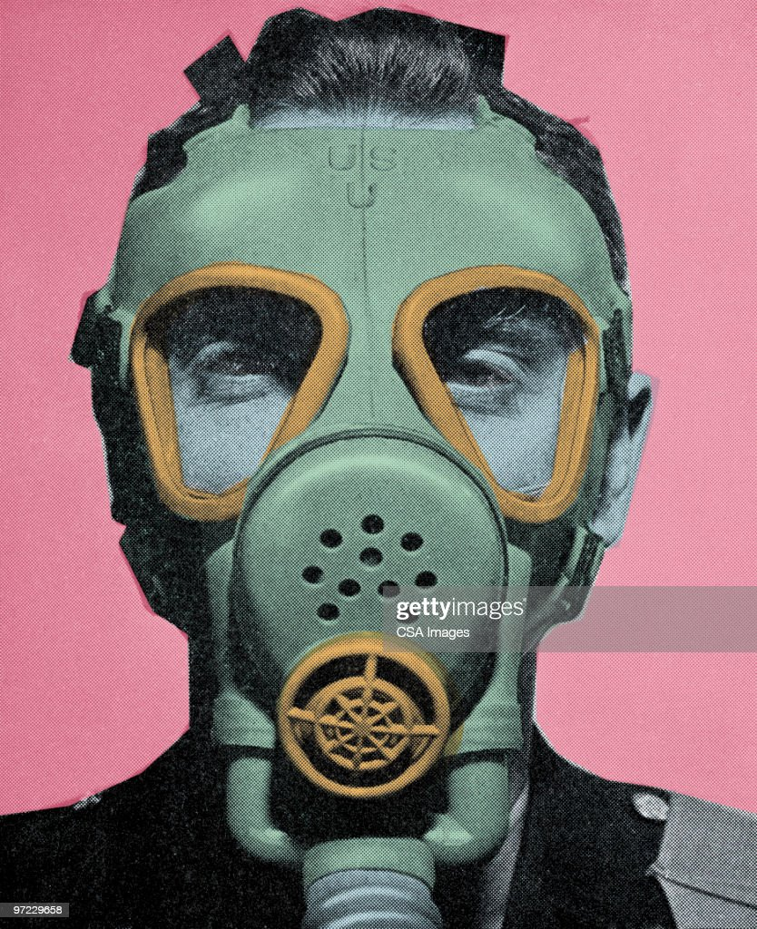 Gas mask : stock illustration
