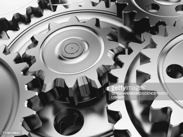 gears in an engine, illustration - gearshift stock illustrations, clip art, cartoons, & icons