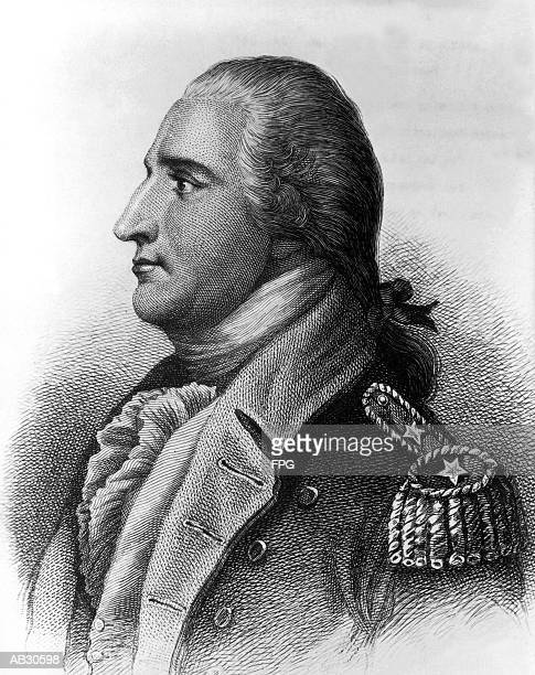 general benedict arnold - army stock illustrations