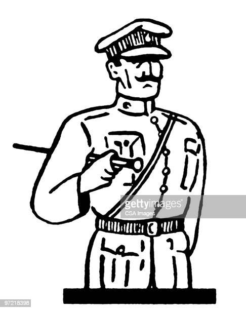general - army soldier stock illustrations