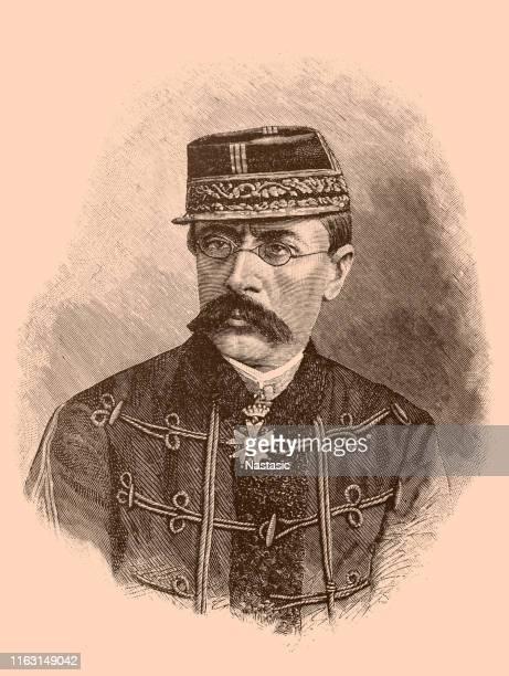 general louis faidherbe - governor stock illustrations, clip art, cartoons, & icons