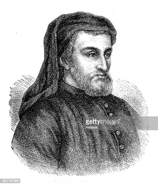 38 Geoffrey Chaucer High Res Illustrations - Getty Images