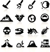 Geology icons