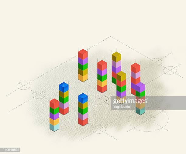 Geometric block connection