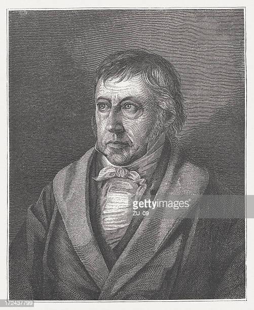 Georg Wilhelm Friedrich Hegel (1770-1831), German philosopher, published in 1882