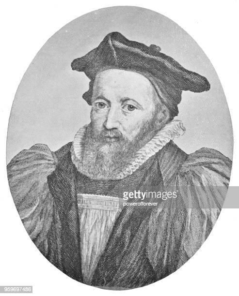 ジョージ ・ アボット、17 世紀 - カンタベリーの大主教 - カンタベリー大主教点のイラスト素材/クリップアート素材/マンガ素材/アイコン素材