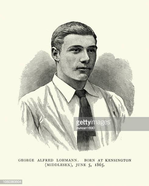 George Alfred Lohmann, English cricketer, 19th Century
