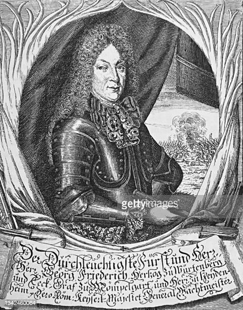 bildbanksillustrationer, clip art samt tecknat material och ikoner med george frederick duke of württemberg and teck - duke