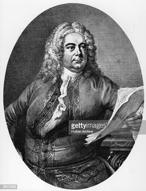 George Friederic Handel , German-English composer born in Halle, circa 1730. Probably most famous for his 'Messiah' which he wrote in 1742. He wrote...
