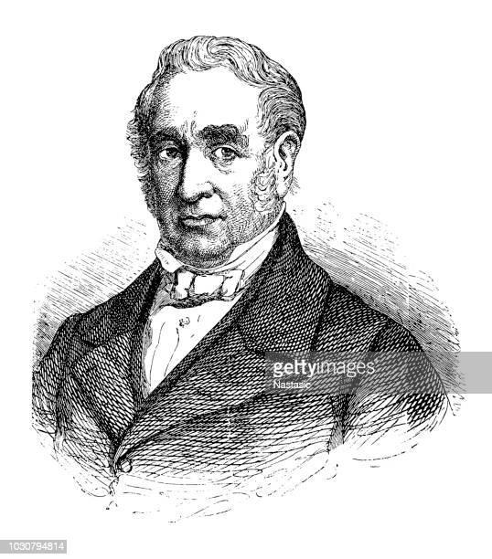 ilustraciones, imágenes clip art, dibujos animados e iconos de stock de george stephenson (09 de junio de 1781 – 12 de agosto de 1848) fue un ingeniero civil inglés e ingeniero mecánico - ingeniero civil
