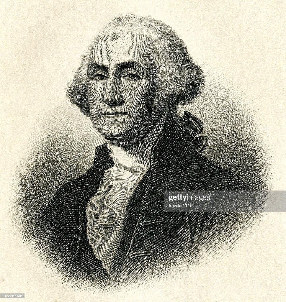 George Washington : stock illustration