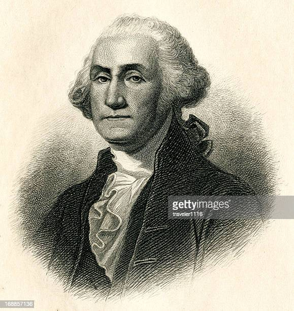 george washington - president stock illustrations, clip art, cartoons, & icons