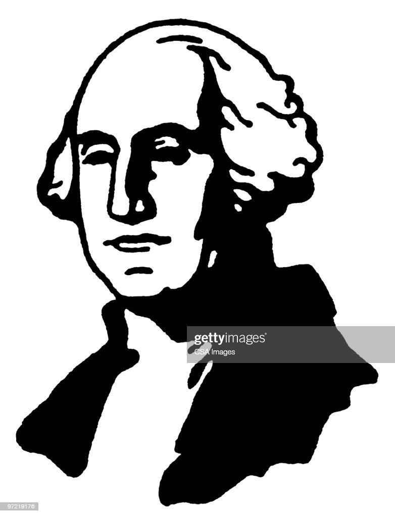 Contemporáneo Dibujos Para Colorear De George Washington Viñeta ...