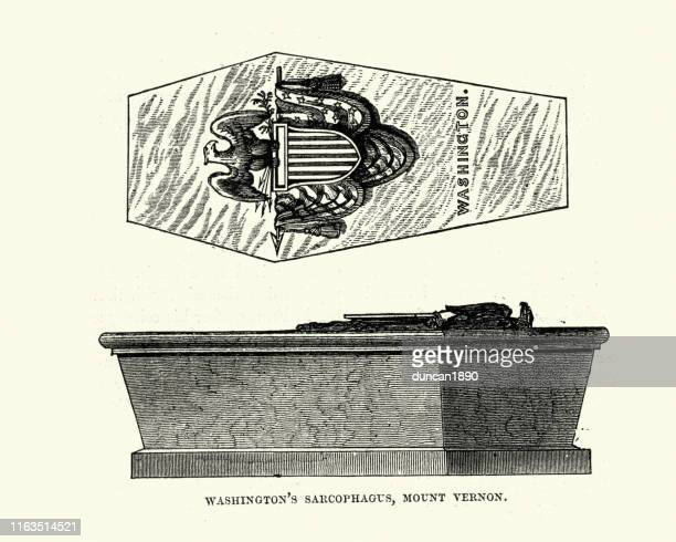 George Washington's sarcophagus, Mount Vernon