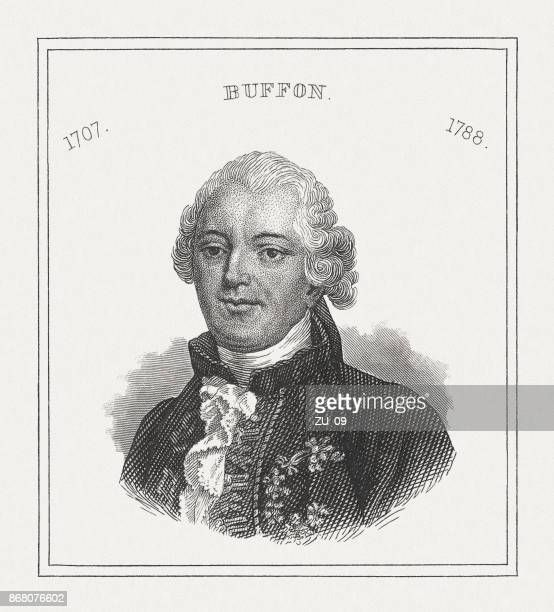 Georges-Louis Leclerc, Comte de Buffon (1707-1788), French naturalist, published 1843
