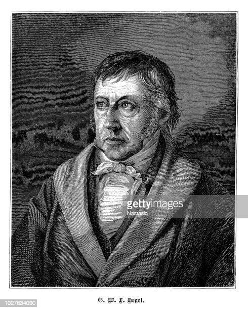 German philosopher Georg Wilhelm Friedrich Hegel from 1875