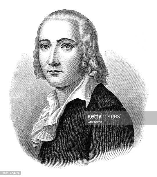 German poet and philosopher Friedrich Hölderlin