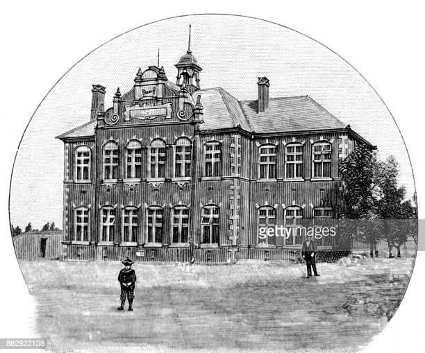 German school building in Johannesburg