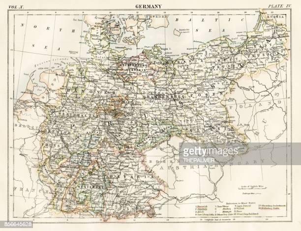 Allemagne carte 1884