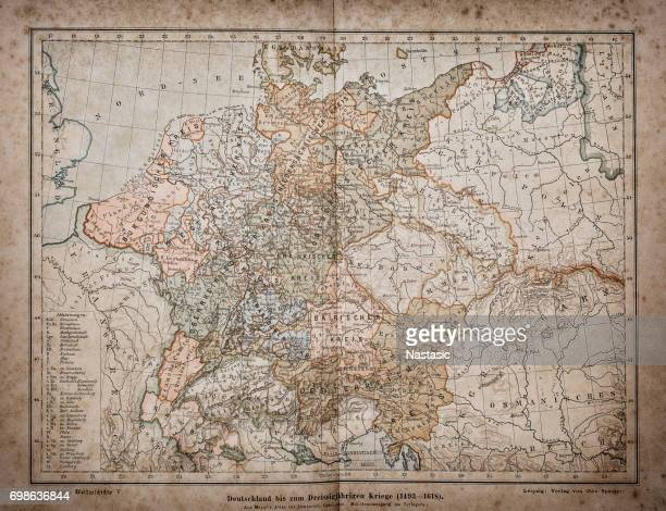 germany until the thirty years' war. (1493-1618) - 16th century style stock illustrations, clip art, cartoons, & icons