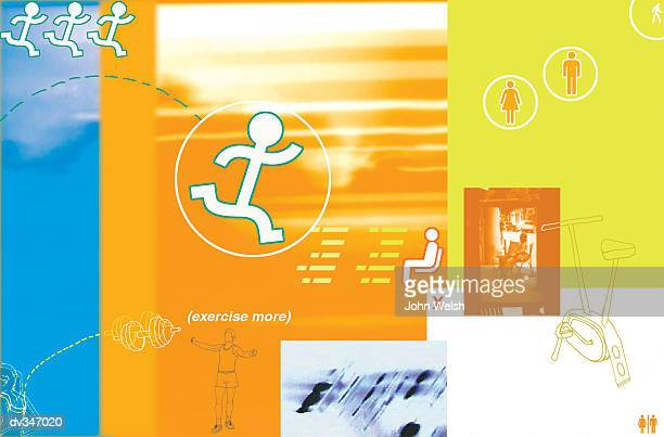 get moving for your health - leisure facilities stock illustrations, clip art, cartoons, & icons