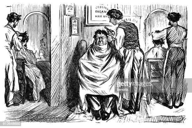 Obtención de un corte de cabello