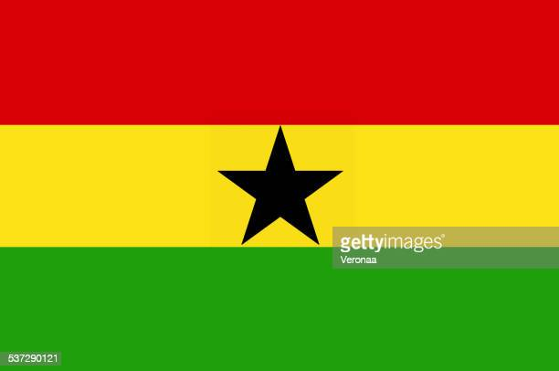 ghana flag - accra stock illustrations, clip art, cartoons, & icons