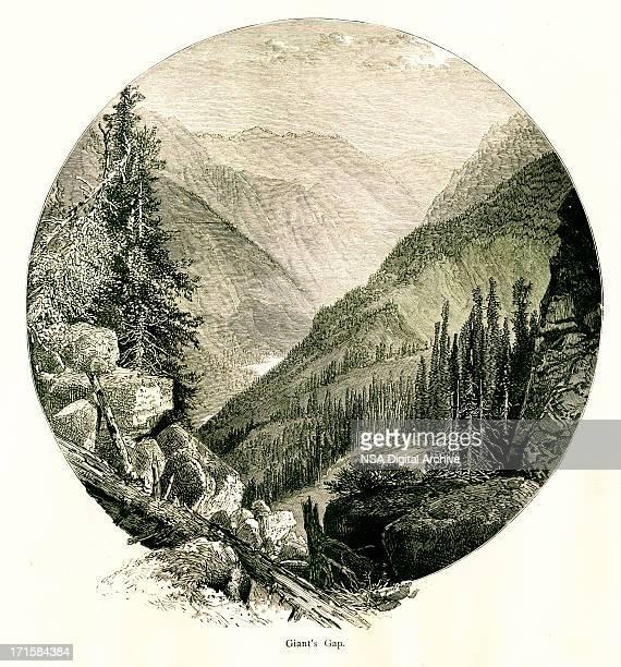 Giant's Gap, California   Historic American Illustrations