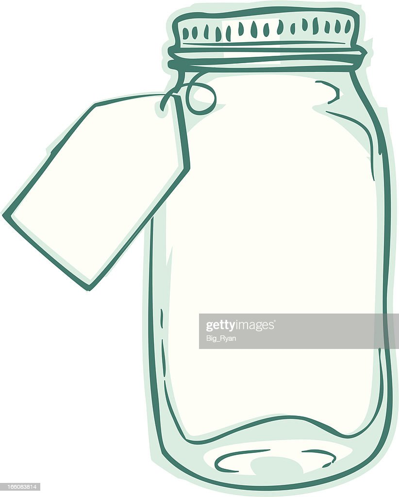 Gift tag jar vector art getty images gift tag jar vector art negle Images