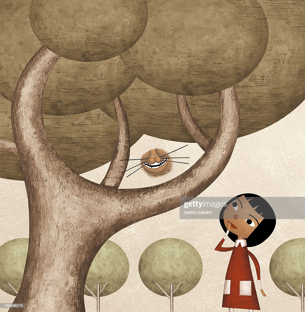 Girl and the Cat's Smile : Illustrationer