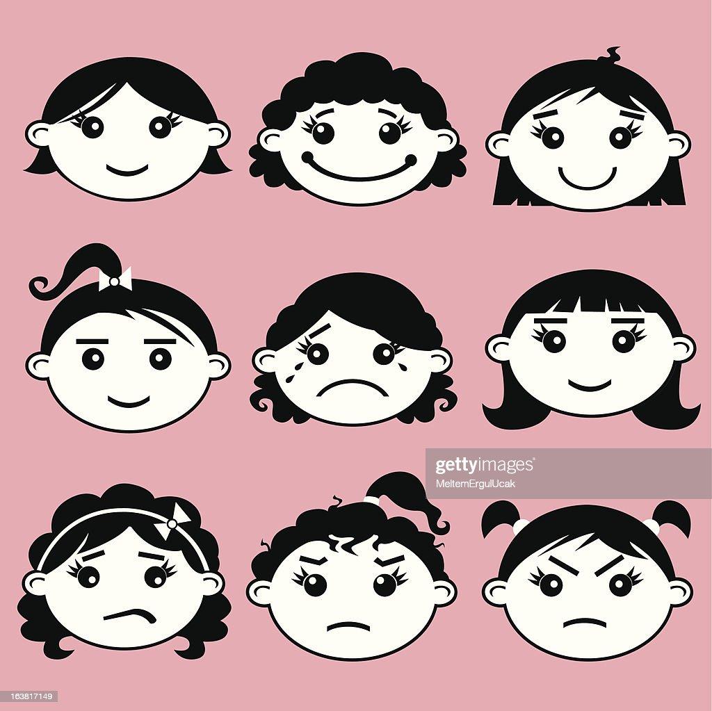 girl kids face