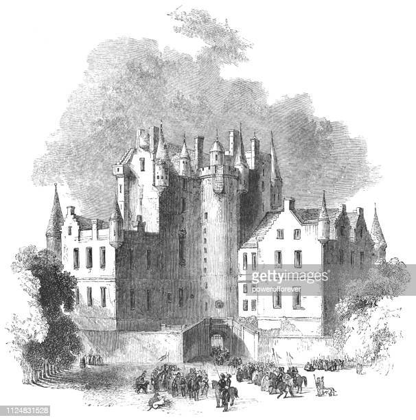 Glamis Castle in Glamis, Scotland - 17th Century