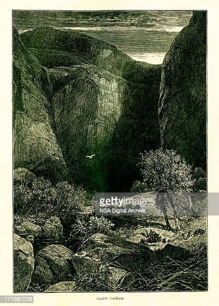 Glen Canyon, Colorado River, USA | Historic American Illustrations