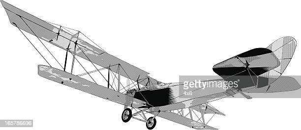 Glider plane illustration