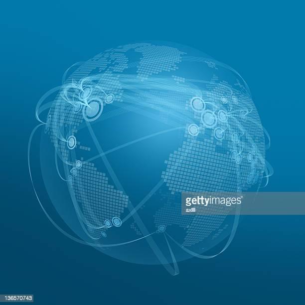 stockillustraties, clipart, cartoons en iconen met global connection - international match