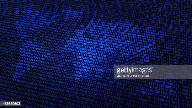 Global data, conceptual artwork