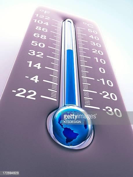 global warming, conceptual artwork - fahrenheit stock illustrations