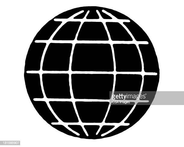 globe - logo stock illustrations