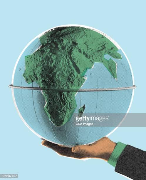 globe - image stock illustrations