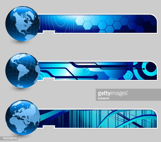 globes with abstract blue banners - ghana stock illustrations, clip art, cartoons, & icons