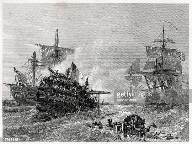 illustrations, cliparts, dessins animés et icônes de superbe 1er juin - guerres napoléoniennes