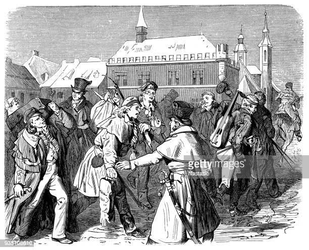 Goettingen students revolution , 1831