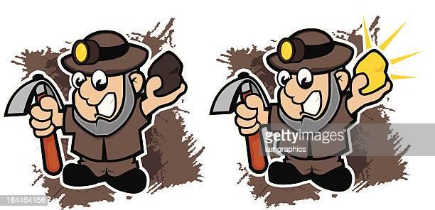 Gold Miners Cartoon