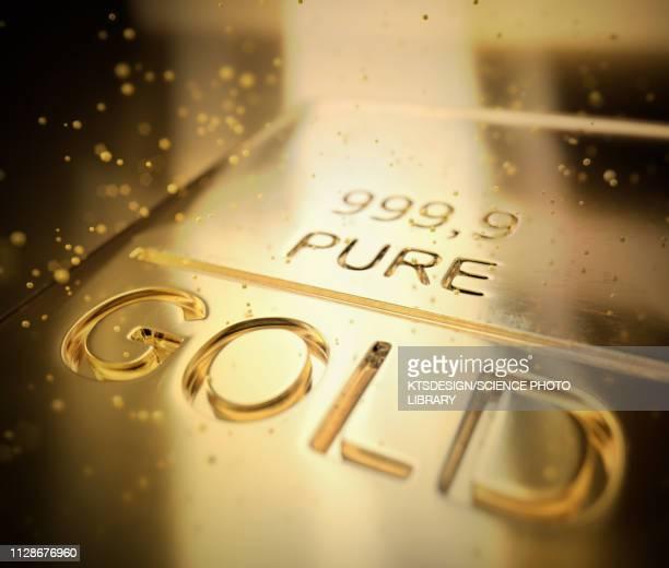 gold bar, illustration - geld und finanzen stock-grafiken, -clipart, -cartoons und -symbole
