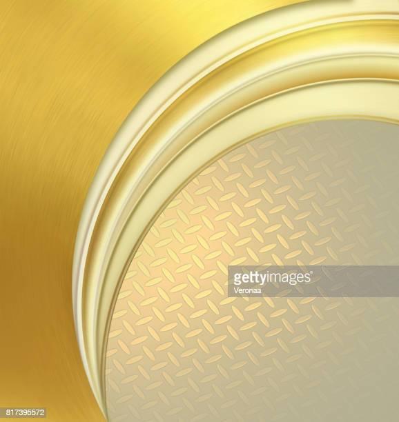 Gold corporate creative background