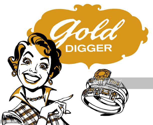 Gold Digger Woman