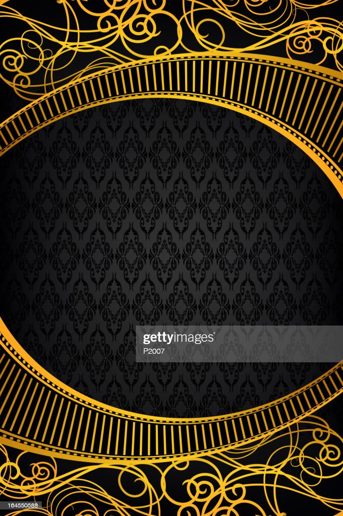 Gold Ornate Frame Vector Art | Getty Images