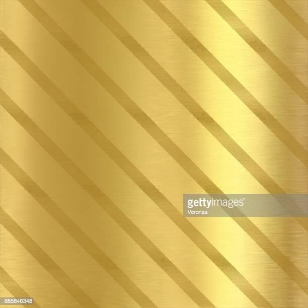 ilustraciones, imágenes clip art, dibujos animados e iconos de stock de fondo de oro con líneas diagonales - papel de aluminio