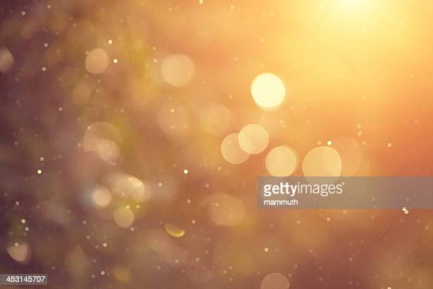 golden bokeh - illuminated stock illustrations